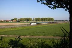 CB Rail E186 240 + IC 1131 Den Haag Centraal - Eindhoven  - 's Gravendeel (Rene_Potsdam) Tags: sgravendeel nederland zuidholland br186 europe europa netherlands holland nederlandsespoorwegen spoorwegen treinen treni tren trenes züge cbrail