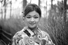Kyoto Street Portrait (Andrew Allan Jpn) Tags: street streetportrait streetfashion streetphotography streetstyle stranger eyecontact eyes 50mm travel traditional kyoto japan japanesegirl japanesewoman striking happyplanet asiafavorites