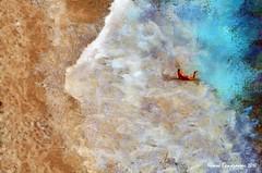 025 new web Lefkada, Porto Katsiki, the girl and the waves (mymemoriesofgreece) Tags: photopainting photoimpressionism landscapes travel photography lefkada greece
