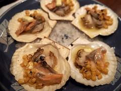 ホタテとサーモンの北海バター焼き (arty822) Tags: food 肴