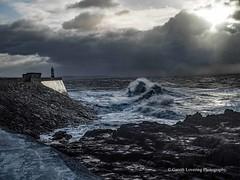 Porthcawl 2019 12 13 #7 (Gareth Lovering Photography 5,000,061) Tags: porthcawl wales seaside seafront seascape sunrise hightide waves windy garethloveringphotography olympus omdem1ii 12200mm