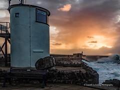 Porthcawl 2019 12 13 #2 (Gareth Lovering Photography 5,000,061) Tags: porthcawl wales seaside seafront seascape sunrise hightide waves windy garethloveringphotography olympus omdem1ii 12200mm