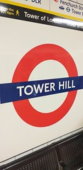 Tower Hill Station, London (ianburgess129) Tags: tower hill london signage roundel