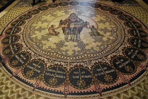 Bodenmosaiken im Chor des Doms; Köln, NRW (84)