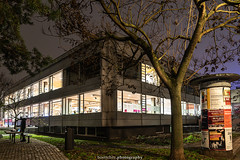 Heidelberg Library - December 2019 I (boettcher.photography) Tags: heidelberg deutschland germany badenwürttemberg dezember december evening abend 2019 langzeitaufnahme longexposure stadtbüchere library stadtbüchereiheidelberg night nacht nachtaufnahme nightshot sashahasha boettcherphotography boettcherphotos