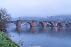The Old Bridge - December 2019 IV (boettcher.photography) Tags: heidelberg deutschland germany badenwürttemberg dezember december evening abend 2019 oldbridge altebrücke bridge brücke neckar river fluss schloss castle schlossheidelberg heidelbergcastle altstadt heidelbergaltstadt oldtown oldtownofheidelberg langzeitaufnahme longexposure sashahasha boettcherphotography boettcherphotos