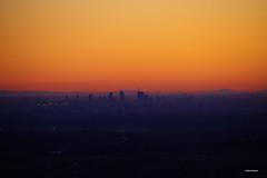 Milano e gli Appennini. (stefano.chiarato) Tags: milano italy grattacieli pianura appennini tramonto sunset paesaggio landscape pentax pentaxk70 pentaxlife pentaxflickraward
