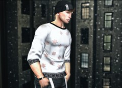 Cold View... (ThiegoFire) Tags: lob boy bento blog secondlife sl style cold man male men outfit window wind snow equal10 doux hairstyle handsome hair catwa cx