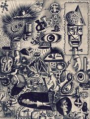 doodles (Neil Tackaberry) Tags: doodle doodles drawing art artwork ink graphite irishartist texture sketches sketch scrapbook disparate irish visual freehand mono greyscale grayscale monochromatic tonal artist irishvisualartist cartoon