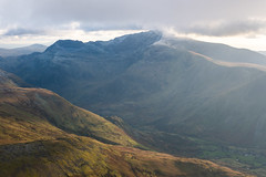 Snowdon from Elidir Fawr (andy_grundy) Tags: fujifilmxt3 cribgoch ice landscape mountain mountains snow snowdon snowdonia wales winter