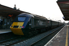 GWR 43170 Chepstow Castle at Yatton (neiljennings51) Tags: first great western railway gwr train yatton somerset station castle class hst