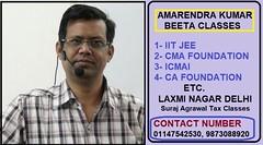 CA Foundation Classes by Amarendra Kumar (aanjali5260) Tags: ca cma iitjee theintegritywebs