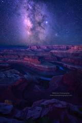 Milky Way over Utah Canyon (Mengzhonghua) Tags: utah canyon milkyway landscape