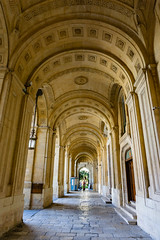 Arches at at National Library of Malta in Valletta (andbog) Tags: sony alpha ilce a6000 sonya6000 emount mirrorless csc sonya sonyα sonyalpha sony⍺6000 sonyilce6000 sonyalpha6000 ⍺6000 ilce6000 apsc α6000 oss sel malta mt ilbeltvalletta lavalletta architettura architecture building palazzo 1650mm selp1650 edificio arches archi archway arcate