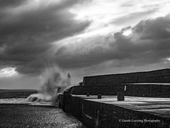 Porthcawl 2019 12 13 #5 (Gareth Lovering Photography 5,000,061) Tags: porthcawl wales seaside seafront seascape sunrise hightide waves windy garethloveringphotography olympus omdem1ii 12200mm