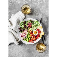 Bowl of fresh salad (ctotir) Tags: salad bowl freshness food foodphotography foodstyling foodanddrink vegetables ingredients