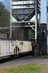 Loadout (GLC 392) Tags: 7216 load loading coal tipple emd sd80mac ns norfolk southern railroad railway train south fork secondary pennsylvania tres trees windber