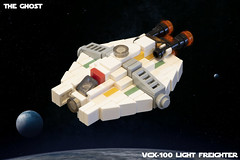 SW Microfighters: The Ghost (Ben Cossy) Tags: lego moc afol tfol star wars rebels the ghost phantom rebellion hera syndulla