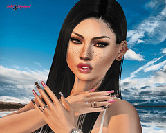 ☆ POST #1026: Nailfie.   Nailfie. (Isabel Unplugged) Tags: unik lushtattooposes stunneroriginals exclusive event desing style tattoo poses animation bento secondlife