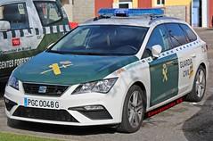 Guardia Civil (emergenciases) Tags: emergencias españa 112 comunidaddemadrid guadarrama simulacro vehículo seguridad guardiacivil policía seat seatleón seatleónst león
