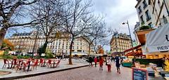 294 Paris Novembre 2019 - square Saint-Médard, en bas de la rue Mouffetard (paspog) Tags: paris france ruemouffetard novembre november 2019 squaresaintmédard