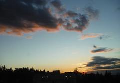 Sunset over 90 (Sotosoroto) Tags: bellevue washington eastgate driving sunset clouds sky dusk
