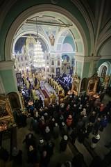 13 декабря 2019, Преподаватели и студенты семинарии молились за богослужениями престольного праздника Андреевского собора