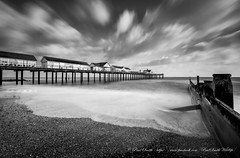Southwold (www.facebook.com/PaulSmithWildlife) Tags: landscape seascape waterscape coastal suffolk southwold mono longexposure