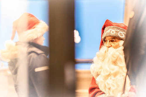Santa Claus in Puijo Tower