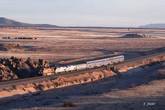 Amtrak à la peine (Frédérick Jury) Tags: amtrak bnsf train bahn railway transcon