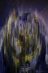 mysterious appearance (danielbedeaux) Tags: paris architecture photoshop photomanipulation