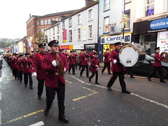 Apprentice Boys of Derry Lundy Parade December 2019 (sean and nina) Tags: abod apprentice boys derry lundy parade march procession londonderry north northern ireland ulster eire irish protestant unionist loyalist british uk united kingdom colour colourful party flags uniforms bands drum flutes banners sash collarette men women male female street candid outdoor outside people persons december 2019 winter order celebration commemoration history historical walled city maiden pul