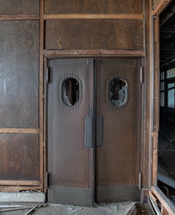 "Leather Double Doors - Executive Offices, Fisk Tire • <a style=""font-size:0.8em;"" href=""http://www.flickr.com/photos/25078342@N00/49213801867/"" target=""_blank"">View on Flickr</a>"