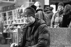Pensive smoker. (6m views. Please follow my work.) Tags: amateur amateurphotographer winter blackandwhite bw blackwhite biancoenero brilliantphoto blanco blancoynegro blancoenero candid city citycentre candidstreetphotography candidportrait nikond7200 england enblancoynegro ennoiretblanc excellentphoto flickrcom flickr google googleimages gb greatbritain greatphoto greatphotographers inbiancoenero image interesting leeds ls1 leedscitycentre landslaneleeds mamfphotography mamf monochrome nikon northernengland noiretblanc noir negro onthestreet photography photo pretoebranco photograph photographer person portrait people quality qualityphotograph road man schwarzundweis schwarz street town uk unitedkingdom urban smoking smoker smokers westyorkshire yorkshire zwartenwit zwartwit zwart thoughtful thinking