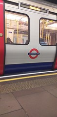 S Stock Train at Tower Hill Station, London (ianburgess129) Tags: s stock train tower hill station london