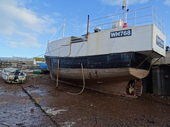 M.F.V Royal Escape (WH 768) Vivier Crabber (MMSI: 235031461) Callsign: MYLA2 (guyfogwill) Tags: 2019 backbeach bateau bateaudepêche bateaux boat boats coastal coastline devon docks dschx60 england europe fishquay fishingboat fishingvessel flicker fogwill gb gbtnm gbr greatbritan guy guyfogwill harbour marine maritime mmsi235031461 nautical plage port river riverbeach riverteign royalescape ship sony southwest teignestuary teignbridge teignmouth teignmouthapproaches theshaldives tq14 uk unitedkingdom vessel wh768 workboat photo engrossing fascinating riveting gripping compelling water