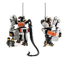 Taskmaster (Mechanekton) Tags: lego mech mecha military space scifi robot aaronbeck worldwarmachine
