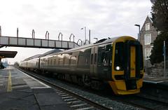 GWR 158749 at Yatton (neiljennings51) Tags: first great western railway gwr train yatton somerset station