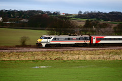 91119_East Fortune (stanley479) Tags: 91 lner uk railways rail trains intercity