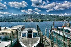 Lake of Orta (danielerossiphoto) Tags: barche lagomaggiore