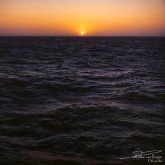 Sunset at sea 1994 (PvRFotografie) Tags: nature natuur view 500cm hasselblad hasselblad500cm distagon distagon50mmtf40cf 50mm vintagelens square squareformat zeiss carlzeiss film sea zee water sunset zonsondergang zon zonlicht