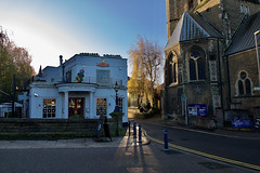 Houses (Deepgreen2009) Tags: guildford church pub houses town surrey morning sunlight