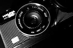 Halina Lens (Christian_Davis) Tags: mw35e halina plasticcamera pointandshoot macro retro lomo lomography highcontrastbw ricoh grii gr ii gr2 closeup