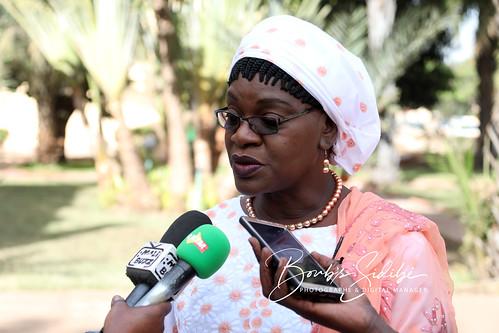Traoré Seynabou Diop, Ministre des Infrastructures et de l´Equipement du Mali. Crédit photo © Boub´s SiDiBÉ