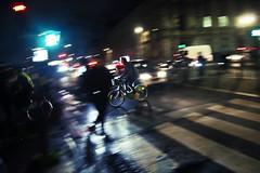 Strike days (Serendipictures) Tags: paris panning photoderue parislights parislanuit pluie parisian filé flou speed streetphotography street vitesse vélo hiver