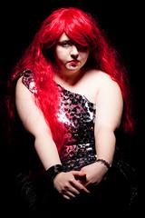 _MG_8306 (phreddyy) Tags: model girl woman red redhair portrait amy glam lurex glamour sexy pretty nice beautiful fun shoot strobist canon canon5dmkii 5d2 witstro godox ad360