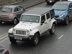 Jeep Wrangler Sahara (Andrew 2.8i) Tags: uk classics classic wales kingdom united streetspotting cars car street spotting carspotting american offroad jk 4x4 4wd suv sportutilityvehicle sahara wrangler jeep