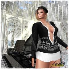 SCANDALIZE. Nathya._003 (Lules_Brimm) Tags: female woman vogue fashion winter secondlife