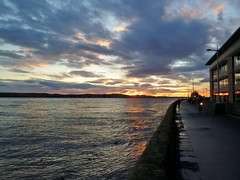 Winter Sunset (eric robb niven) Tags: ericrobbniven scotland dundee landscape sunset rivertay