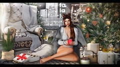 Dreaming of a White Christmas (Hara | kumuckyhara) Tags: kumuckyhara secondlife anthem thearcade letre doux magnoliac narcisse amitieposes ariskea foxwood dad mudhoney secondspaces trompeloeil ks
